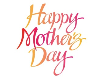 Happy Mother's Day calligraphy image